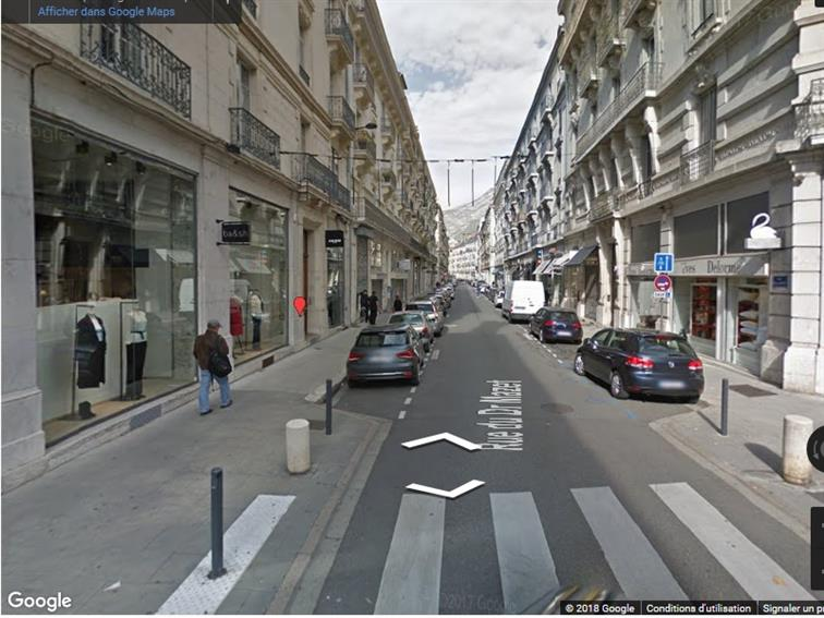 Local commercial Cession 38000 GRENOBLE