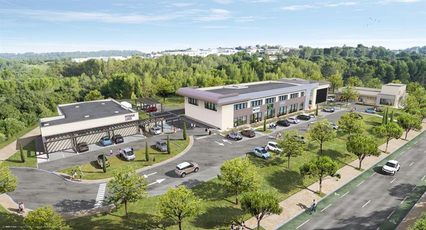 Local commercial Location 30400 VILLENEUVE LES AVIGNON