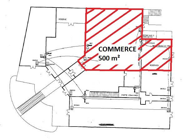Local commercial Location 30900 NIMES