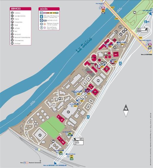 Bureau Location 92000 NANTERRE 27-31 RUE DES HAUTES PATURES