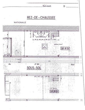 Bureau Vente/Location 59800 LILLE