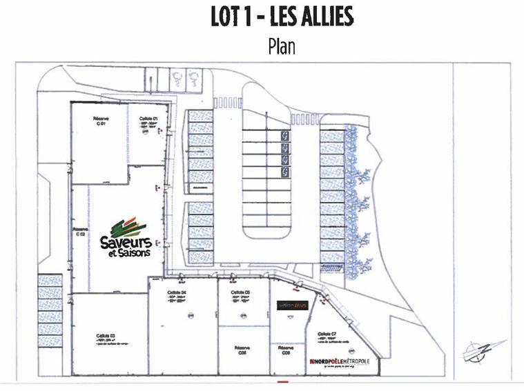 Entrepôt Vente/Location 59830 BOUVINES