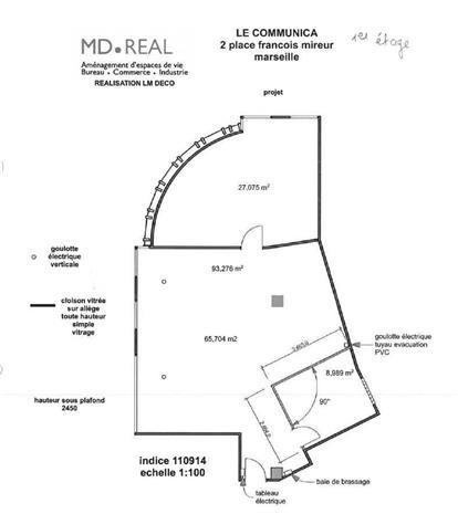 Bureau Location 13001 MARSEILLE 2 PLACE FRANCOIS MIREUR