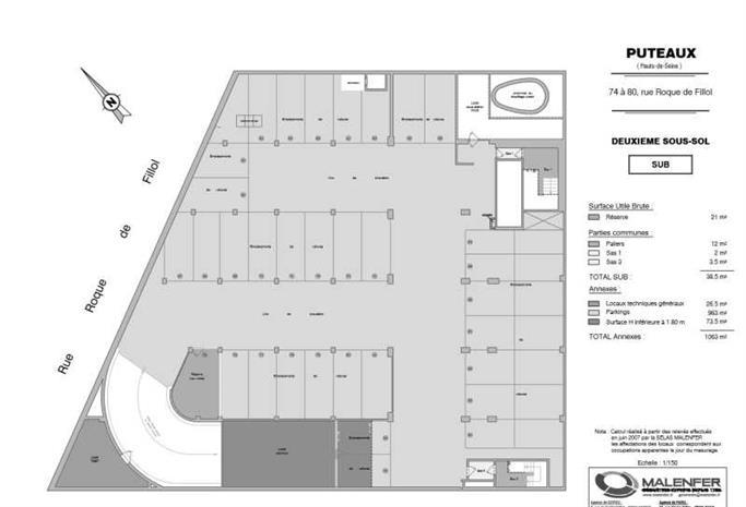 Bureau Location 92800 PUTEAUX 74-80 RUE ROQUE DE FILLOL