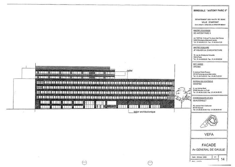 Bureau Location 92160 ANTONY 10 PLACE DU GENERAL DE GAULLE