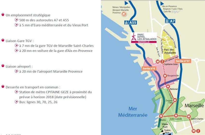 Bureau Location 13014 MARSEILLE 35 BOULEVARD DU CAPITAINE GEZE