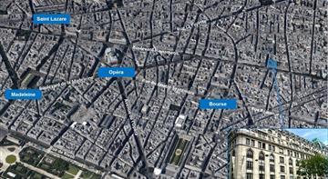 Bureau Location 75009 PARIS 14-16 BOULEVARD POISSONNIERE