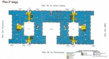 Bureau Location 93210 LA PLAINE ST DENIS 2 RUE DE LA CROIX FARON