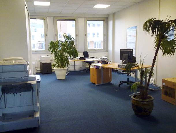 Les bureaux d'Option Plus à Nanterre