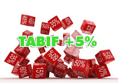 Tarifs 2012 de la taxe annuelle sur les bureaux