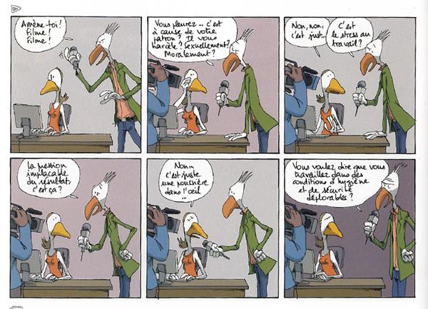 Dans mon open space la bande dessinée le immobilier de cbre