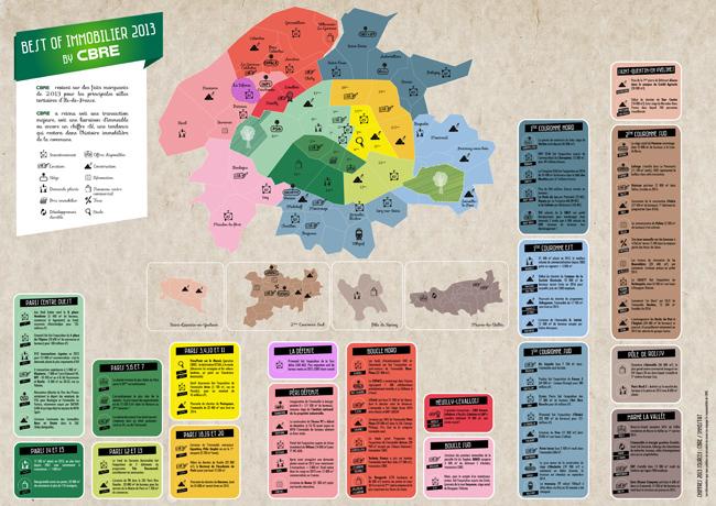 Retrospective 2013 : bureaux en IDF