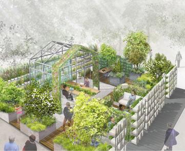 Bureaux De Jardins : Ça pousse aussi au bureau le immobilier de cbre