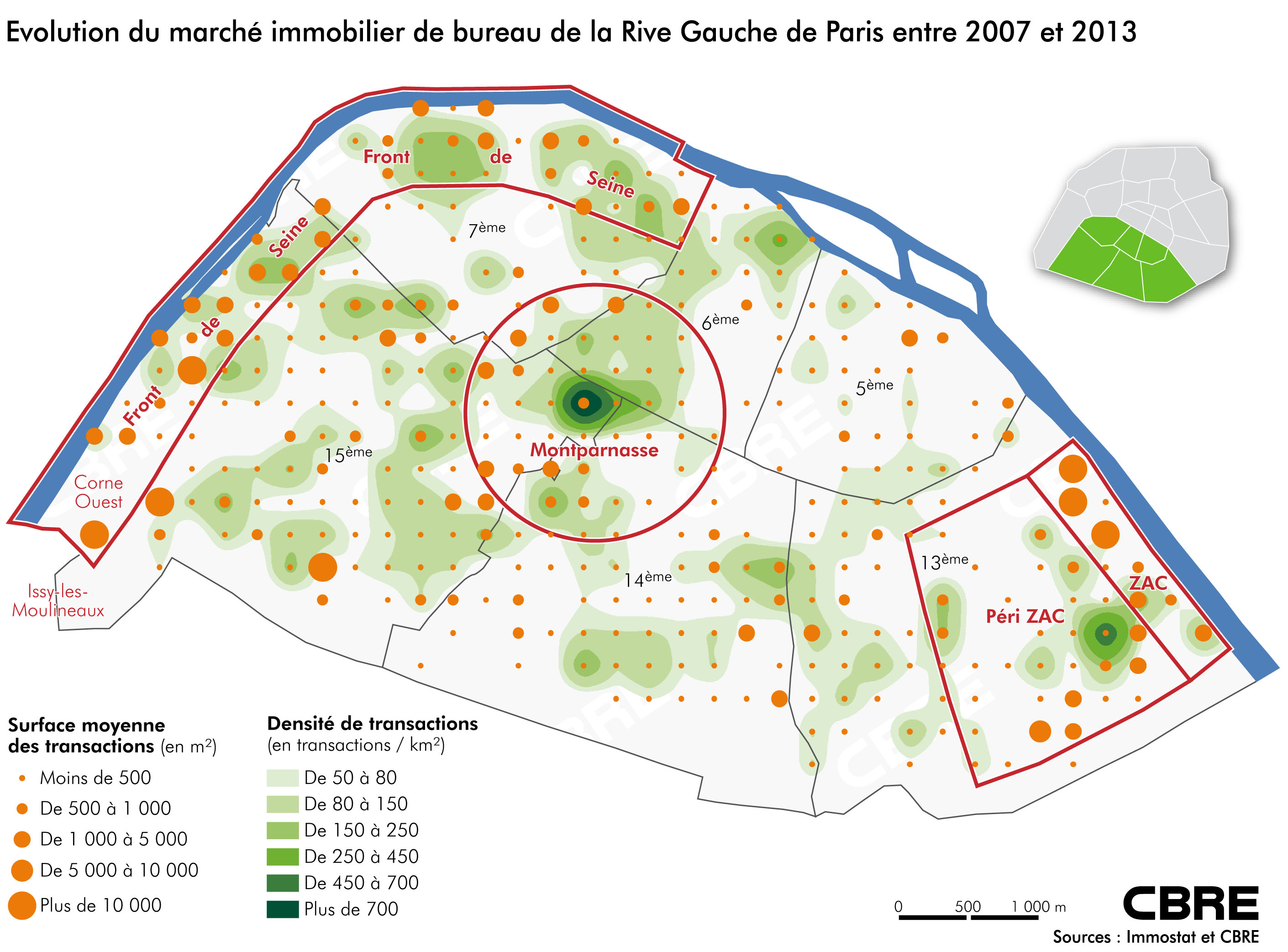 Le Paris Business englobe la Rive Gauche, nul doute possible