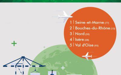 TOP 5 des départements logistiques en France