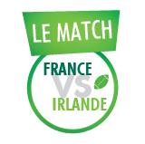 Match #15 : France vs Irlande