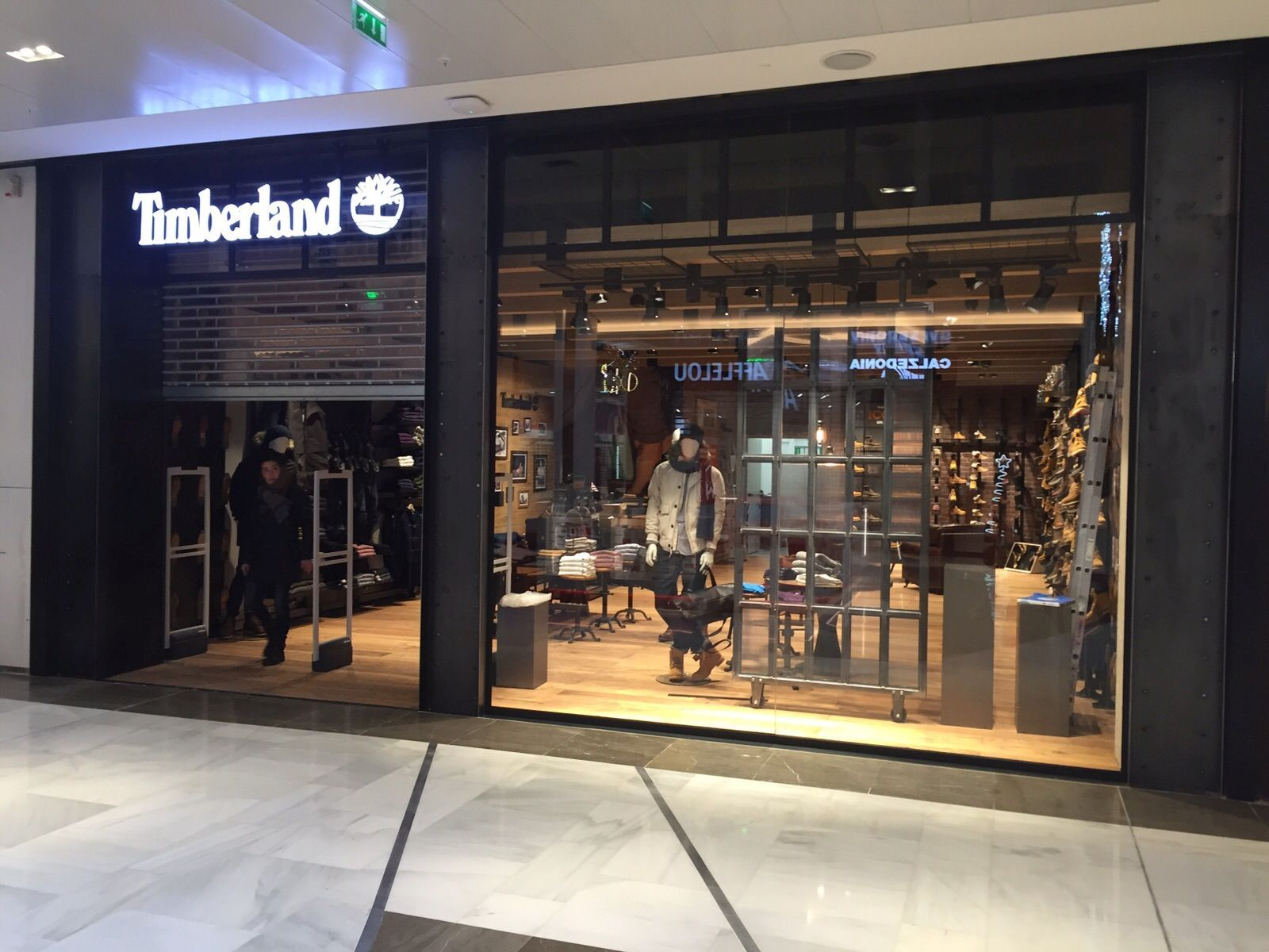 magasin de timberland en france