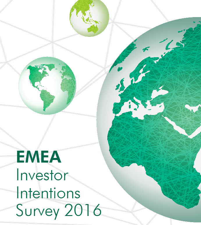 EMEA Investors Intentions Survey 2016