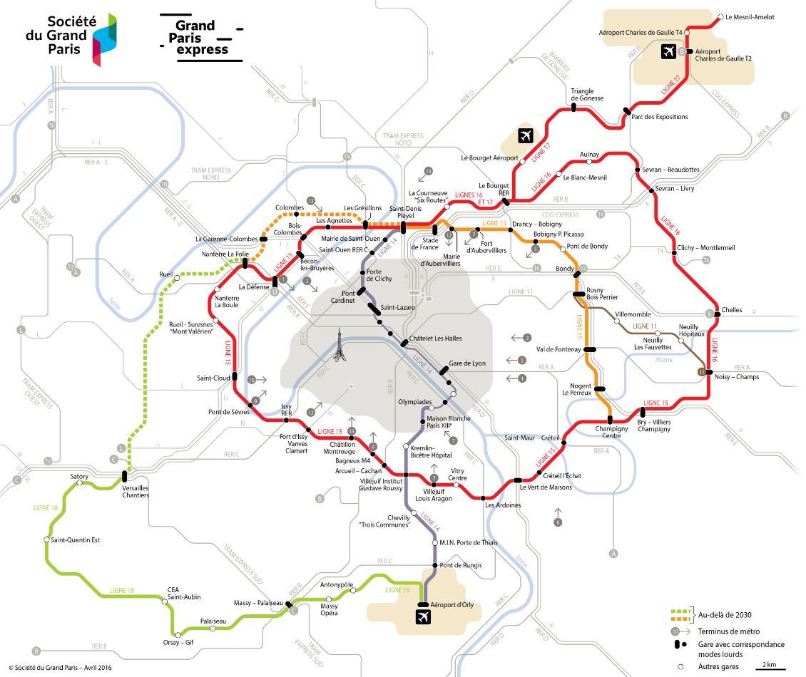 Le Grand Paris Express : le projet culte architectural, ferroviaire et immobilier