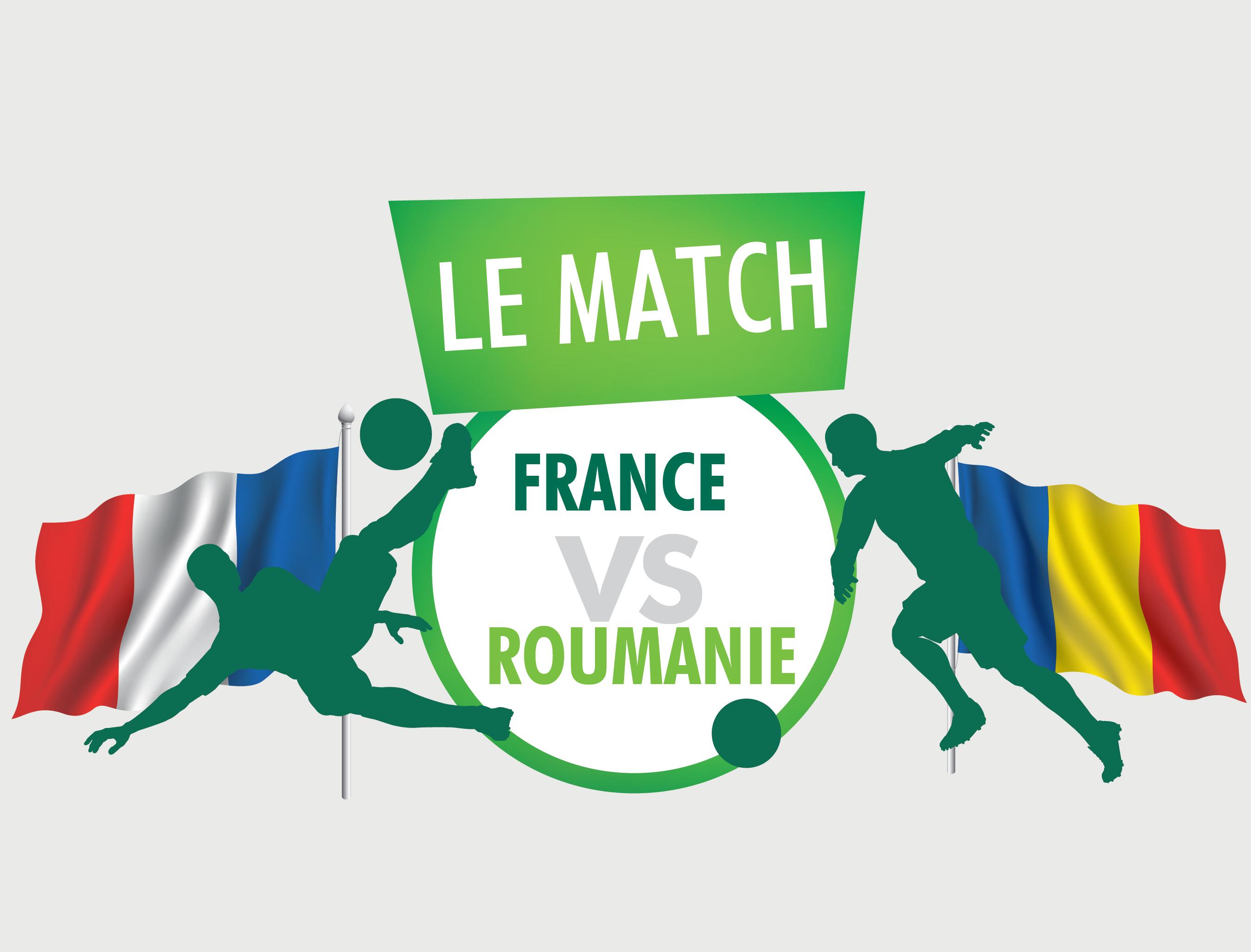 Match #19 : France Vs Roumanie