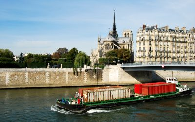 Le transport fluvial à Paris