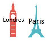 Paris versus Londres : Quartiers, Immeubles, Bureaux