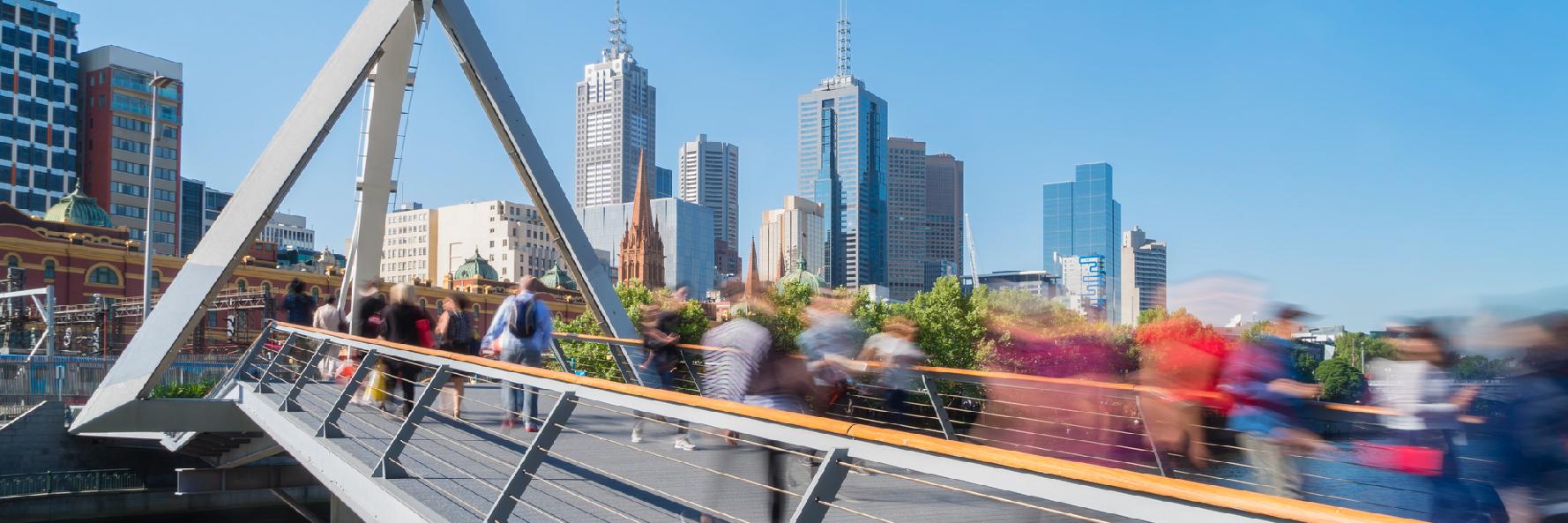 Ville pietonniere Melbourne CBRE-01