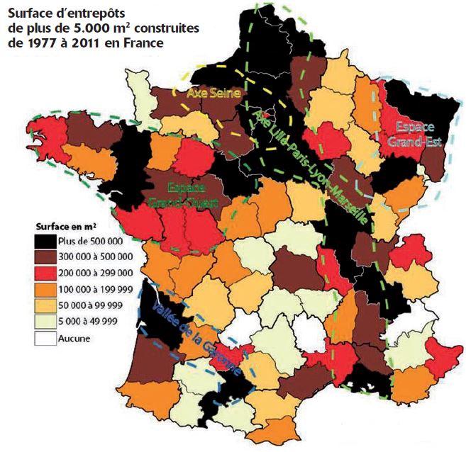 Le visage de la France logistique en 2016