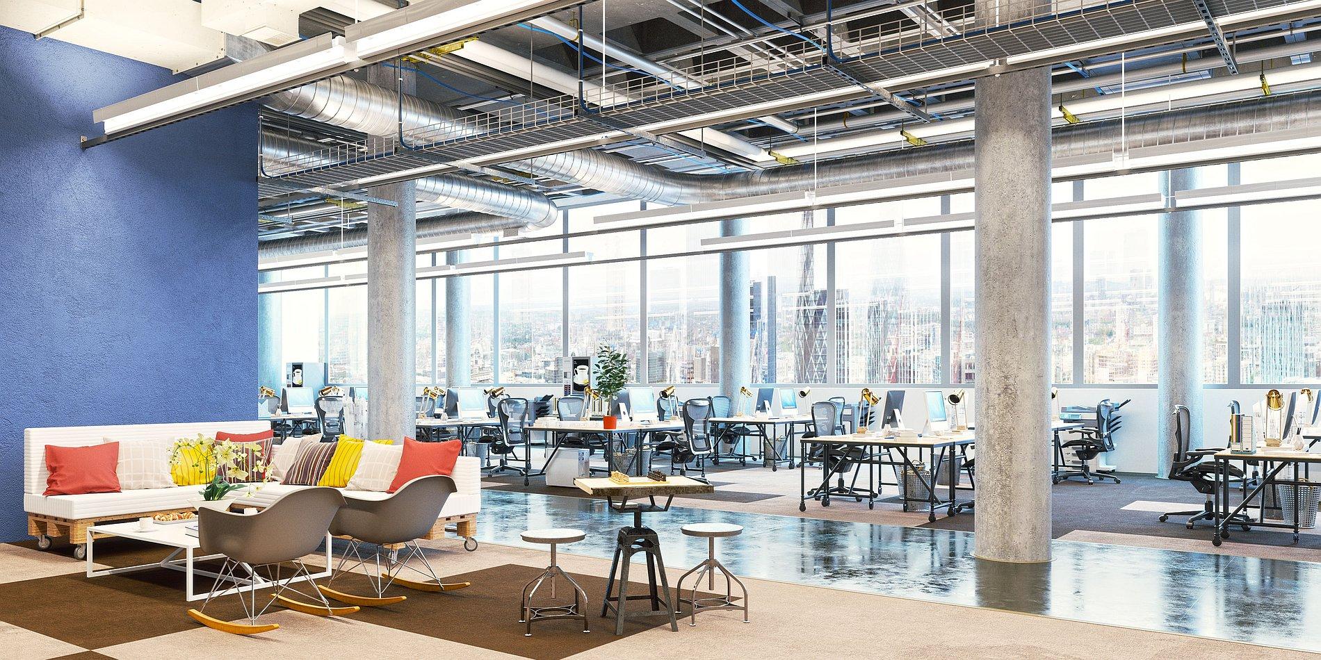 L'aménagement d'espace bureau sous influences