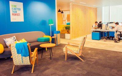 Evolution chronologique des espaces de bureaux