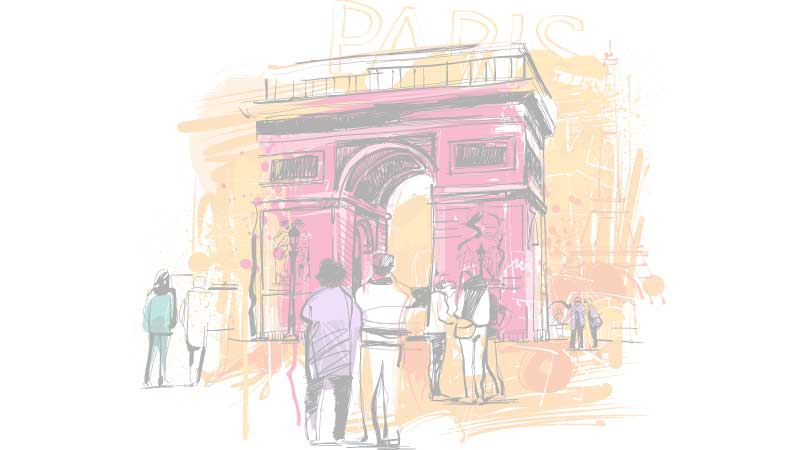 Le marché des bureaux sur l'avenue des Champs Elysées