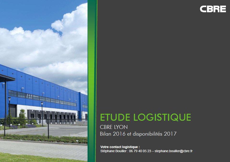 Logistique en région Rhône Alpes : Bilan 2016 et disponibilités 2017