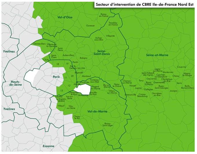 Zoom sur les marchés de bureaux de l'Ile-de-France Nord-Est- 1ère Partie