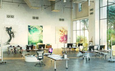 Des aménagements de bureaux funs et smarts pour refléter la personnalité des start-ups
