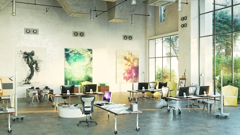 Des aménagements de bureaux funs et smarts pour refléter la
