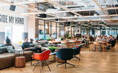 Start-up : urbanisme, culture d'entreprise et «sociostyle»