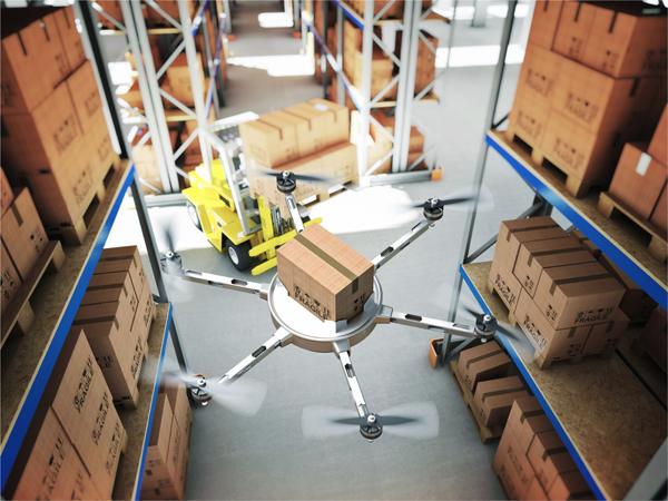 Le drone, mode de transport en essor dans l'industrie et la logistique