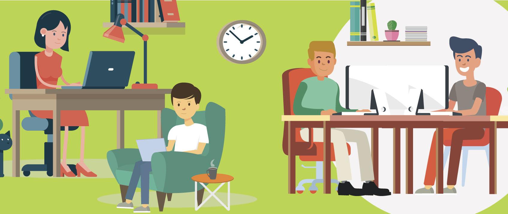 (R)évolution des modes de travail, la parole donnée aux salariés