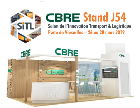 CBRE vous offre votre accès à la SITL 2019, venez nous rencontrer sur le stand J54!
