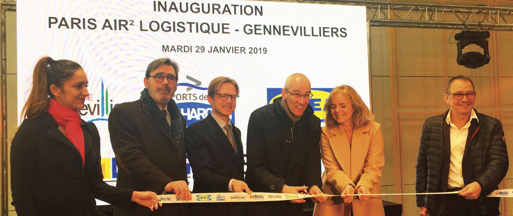 IKEA : Inauguration de la plateforme innovante Paris Air2 Logistique à Gennevilliers