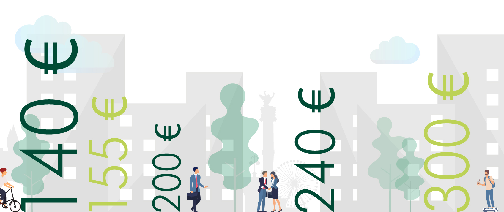 Infographie : le marché de l'immobilier de bureaux à Bordeaux